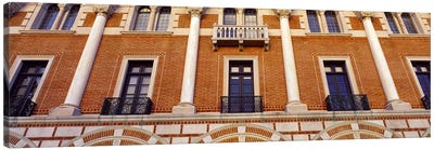 Low angle view of an educational building, Rice University, Houston, Texas, USA Canvas Print #PIM8878