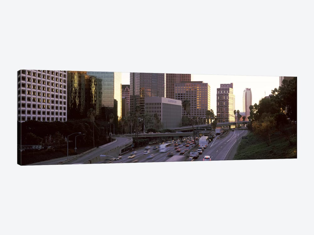 Buildings in a city, City of Los Angeles, California, USA by Panoramic Images 1-piece Canvas Print