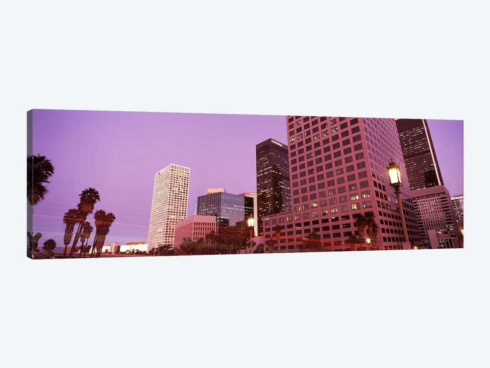 Buildings in a city, City of Los Angeles, California, USA #2 1-piece Canvas Wall Art