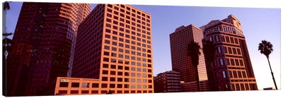Buildings in a city, City of Los Angeles, California, USA #3 Canvas Print #PIM8890