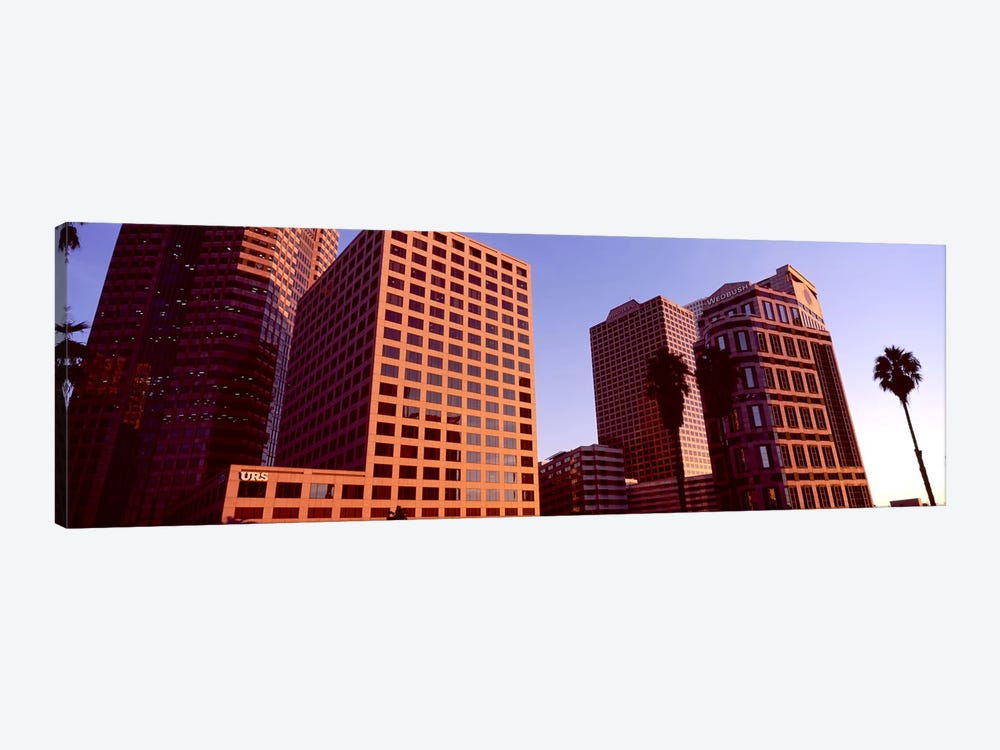 Buildings in a city, City of Los Angeles, California, USA #3 by Panoramic Images 1-piece Canvas Print