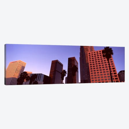 Buildings in a city, City of Los Angeles, California, USA #4 Canvas Print #PIM8891} by Panoramic Images Canvas Art