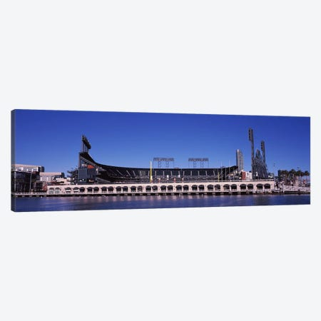 AT&T Park, 24 Willie Mays Plaza, San Francisco, California, USA Canvas Print #PIM8895} by Panoramic Images Art Print