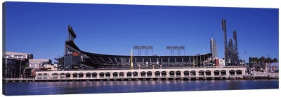 AT&T Park, 24 Willie Mays Plaza, San Francisco, California, USA Canvas Art Print