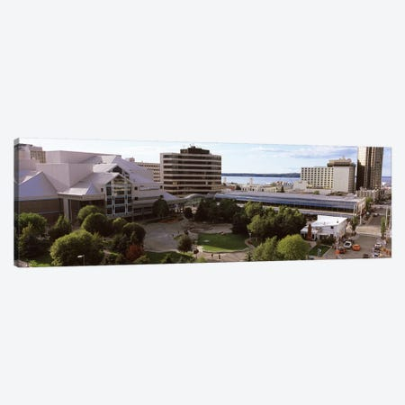 Buildings in a city, Alaska Center for the Performing Arts, Anchorage, Alaska, USA Canvas Print #PIM8905} by Panoramic Images Canvas Art Print