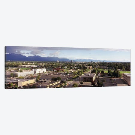 Buildings in a city, Anchorage, Alaska, USA #3 Canvas Print #PIM8906} by Panoramic Images Art Print