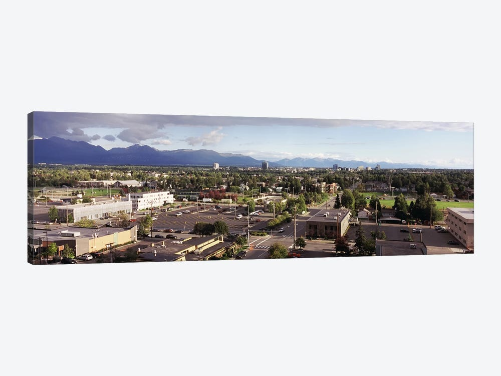 Buildings in a city, Anchorage, Alaska, USA #3 by Panoramic Images 1-piece Art Print