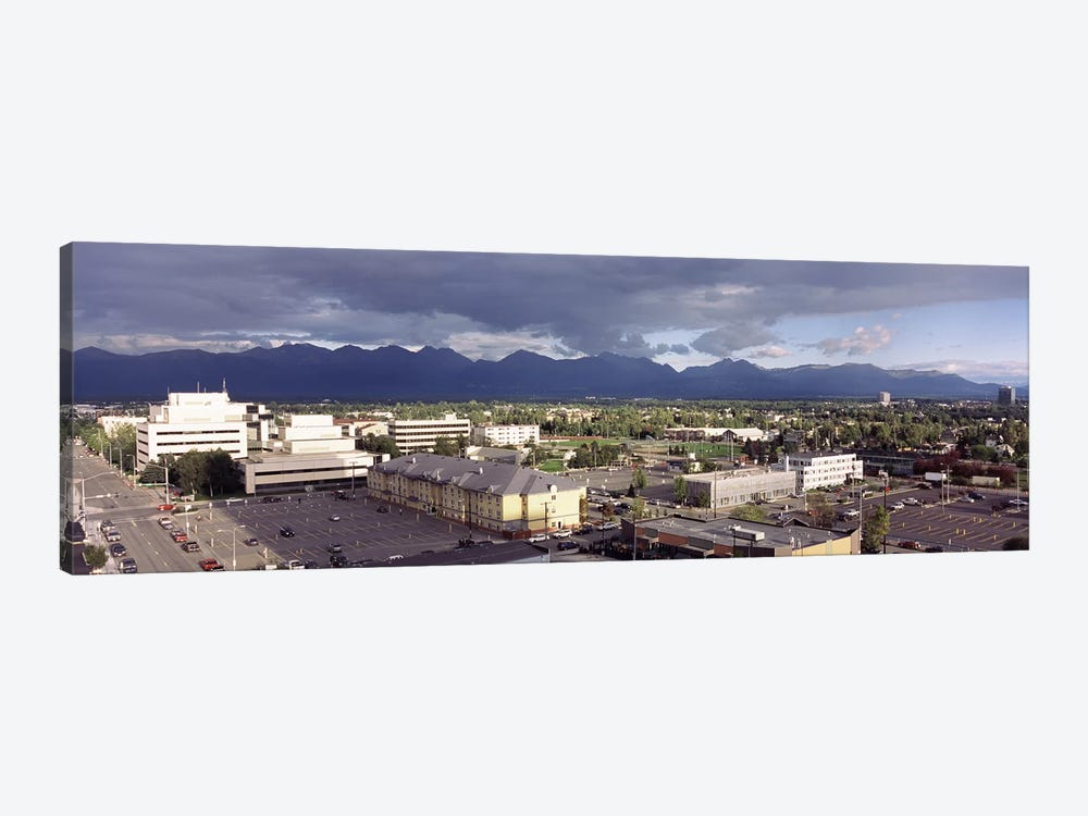 Buildings in a city, Anchorage, Alaska, USA #2 by Panoramic Images 1-piece Canvas Art