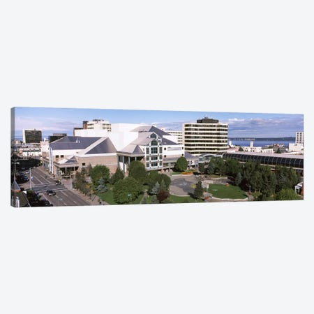 Buildings in a city, Alaska Center for the Performing Arts, Anchorage, Alaska, USA #2 Canvas Print #PIM8908} by Panoramic Images Canvas Wall Art