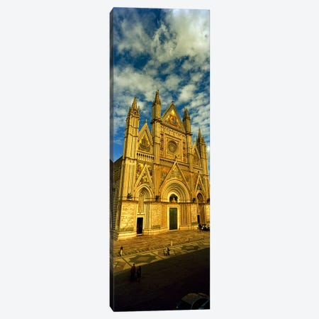 Facade of a cathedral, Duomo Di Orvieto, Orvieto, Umbria, Italy Canvas Print #PIM8923} by Panoramic Images Canvas Wall Art