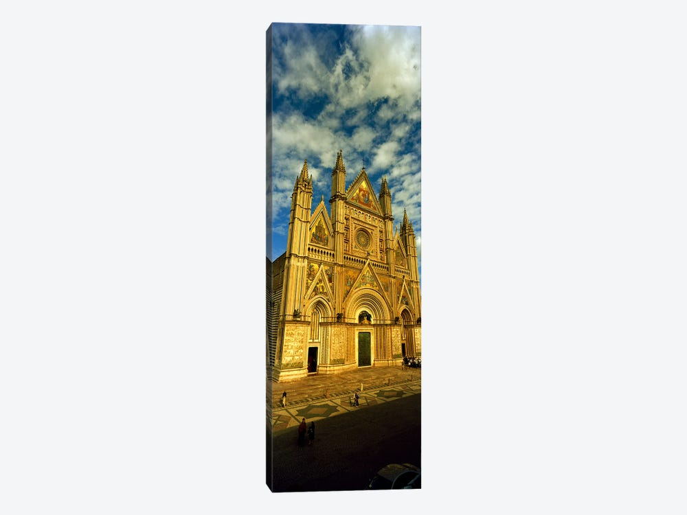 Facade of a cathedral, Duomo Di Orvieto, Orvieto, Umbria, Italy by Panoramic Images 1-piece Canvas Wall Art
