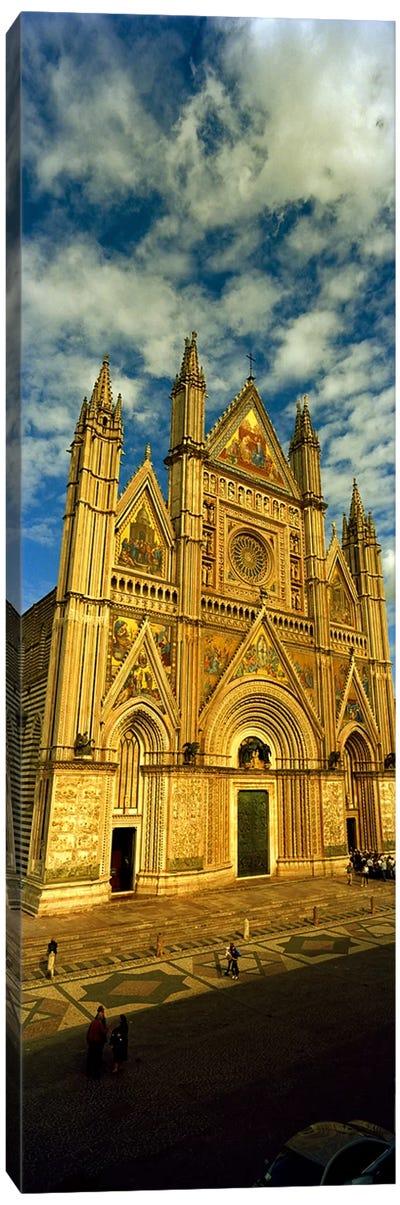 Facade of a cathedral, Duomo Di Orvieto, Orvieto, Umbria, Italy Canvas Art Print