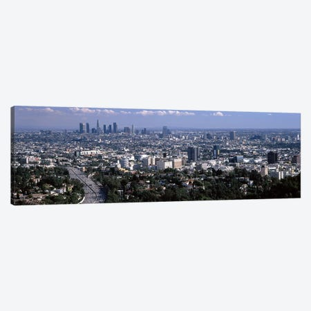 Buildings in a city, Hollywood, City Of Los Angeles, Los Angeles County, California, USA 2010 #2 Canvas Print #PIM8930} by Panoramic Images Canvas Print