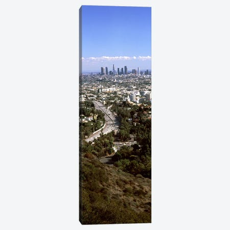 Buildings in a city, Hollywood, City Of Los Angeles, Los Angeles County, California, USA 2010 #3 Canvas Print #PIM8931} by Panoramic Images Canvas Art Print