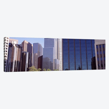 Skyscrapers in a city, City Of Los Angeles, Los Angeles County, California, USA #2 Canvas Print #PIM8947} by Panoramic Images Canvas Art Print