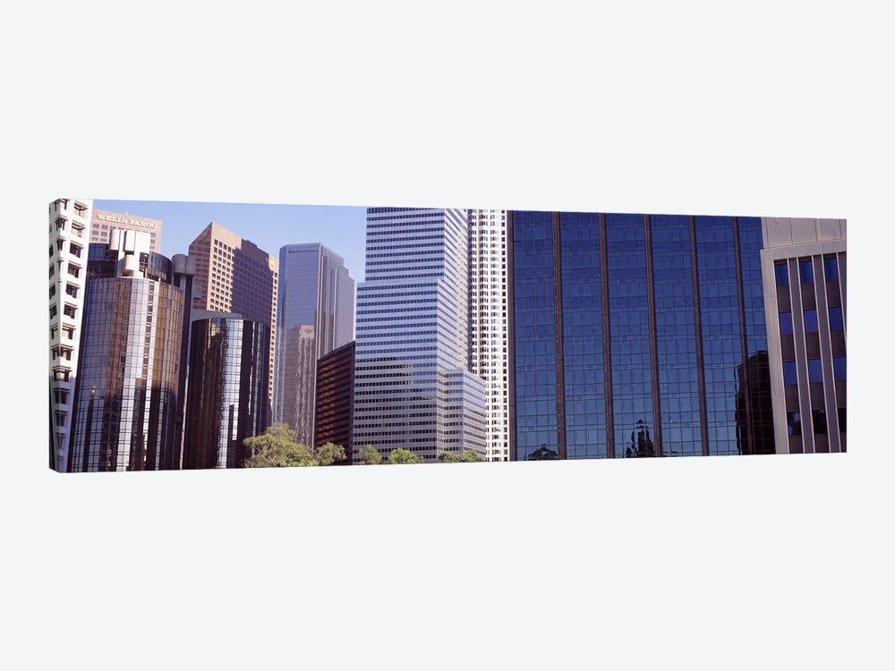 Skyscrapers in a city, City Of Los Angeles, Los Angeles County, California, USA #2 by Panoramic Images 1-piece Canvas Artwork