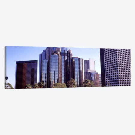 Skyscrapers in a city, City Of Los Angeles, Los Angeles County, California, USA #3 Canvas Print #PIM8948} by Panoramic Images Canvas Art