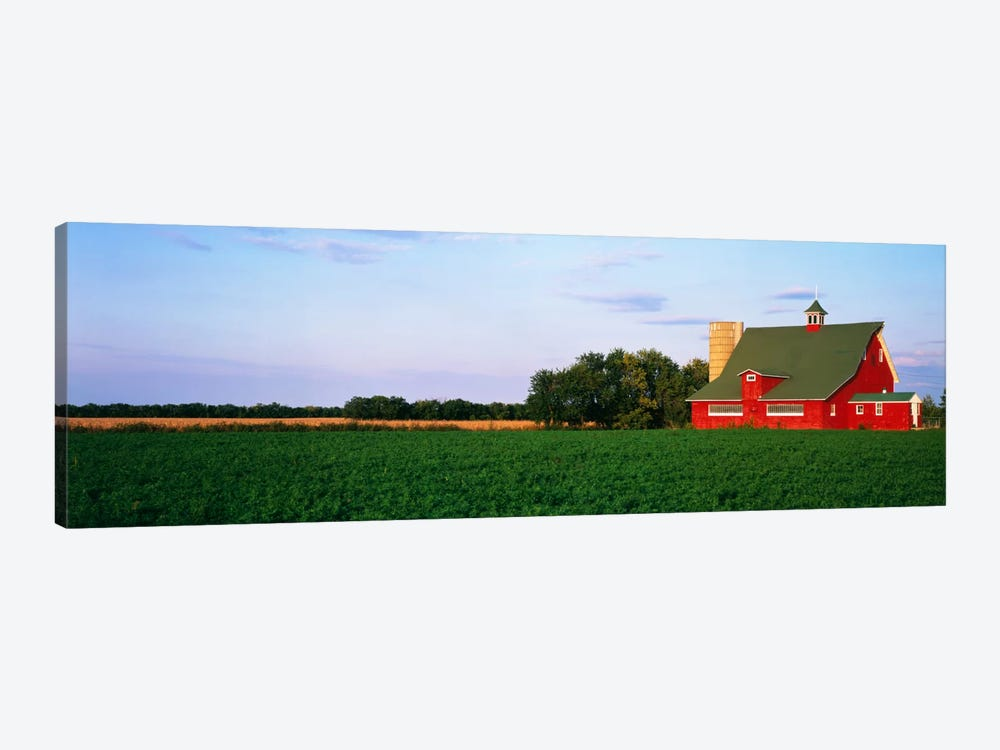 Red Barn Kankakee IL USA 1-piece Canvas Artwork