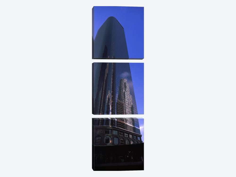 Low angle view of a skyscraper in a city city of los - Refrigerateur 1 porte noir ...