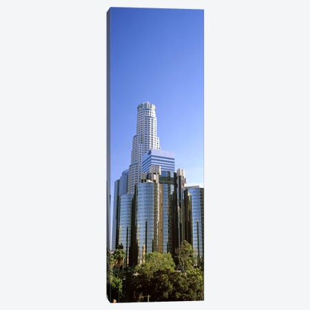 Skyscrapers in a city, City Of Los Angeles, Los Angeles County, California, USA #5 Canvas Print #PIM8952} by Panoramic Images Canvas Art Print