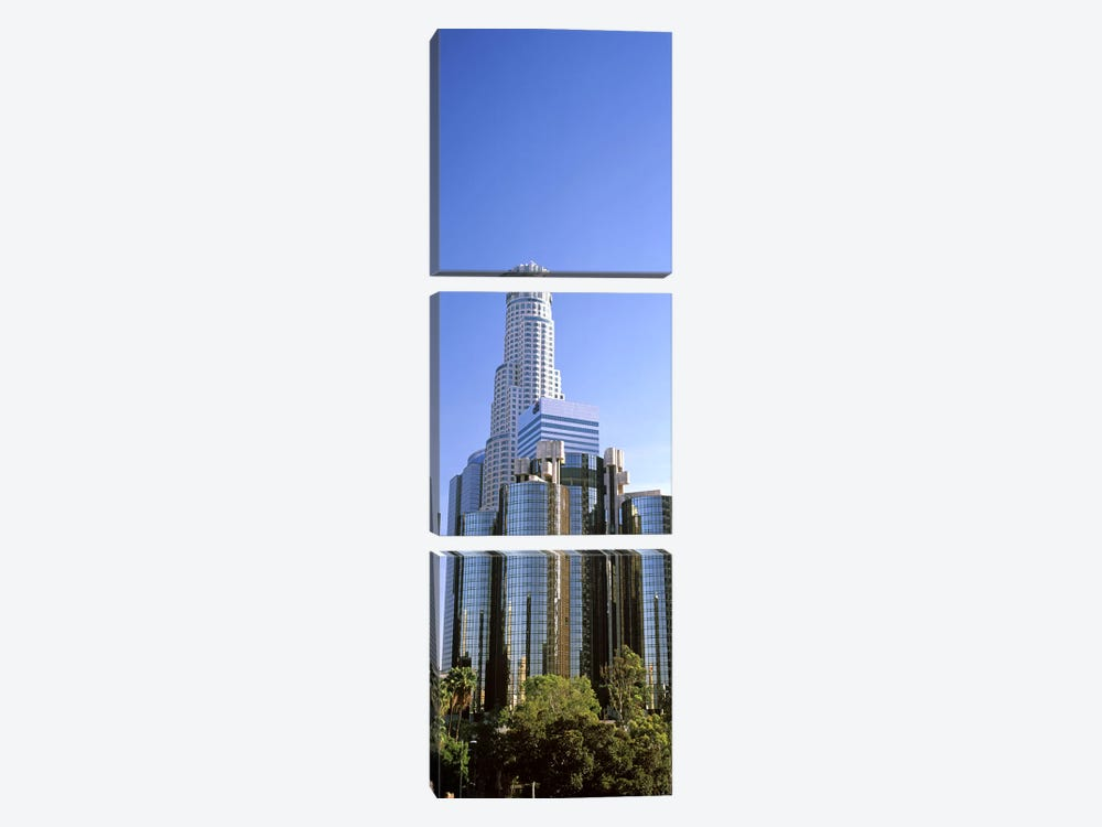 Skyscrapers in a city, City Of Los Angeles, Los Angeles County, California, USA #5 by Panoramic Images 3-piece Canvas Artwork