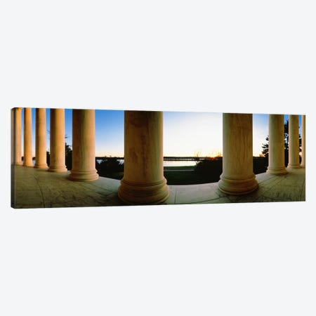 Jefferson Memorial Washington DC USA #2 Canvas Print #PIM895} by Panoramic Images Canvas Artwork