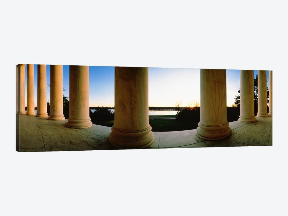Jefferson Memorial Washington DC USA #2 by Panoramic Images 1-piece Canvas Print
