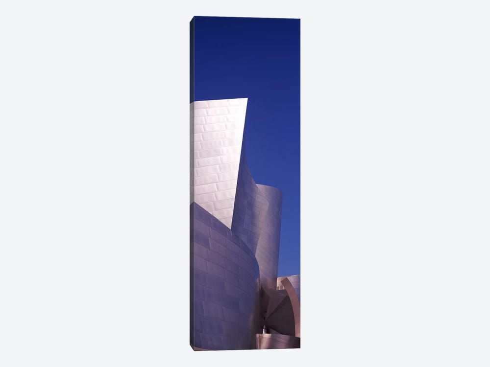 Low angle view of a concert hall, Walt Disney Concert Hall, City Of Los Angeles, Los Angeles County, California, USA by Panoramic Images 1-piece Canvas Wall Art