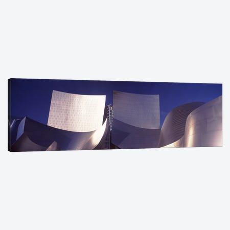 Low angle view of a concert hall, Walt Disney Concert Hall, City Of Los Angeles, Los Angeles County, California, USA #2 Canvas Print #PIM8964} by Panoramic Images Art Print