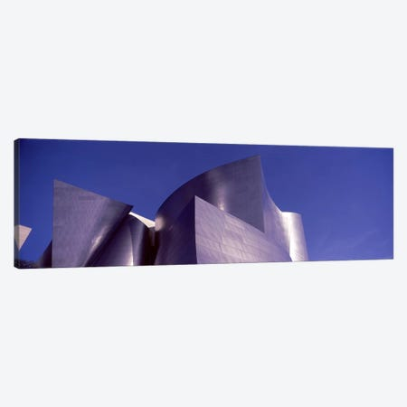 Low angle view of a concert hall, Walt Disney Concert Hall, City Of Los Angeles, Los Angeles County, California, USA #3 Canvas Print #PIM8965} by Panoramic Images Canvas Print