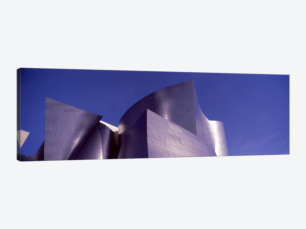 Low angle view of a concert hall, Walt Disney Concert Hall, City Of Los Angeles, Los Angeles County, California, USA #3 by Panoramic Images 1-piece Canvas Wall Art