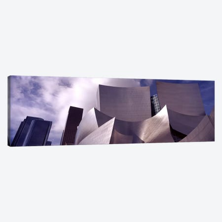 Low angle view of a concert hall, Walt Disney Concert Hall, City Of Los Angeles, Los Angeles County, California, USA #4 Canvas Print #PIM8966} by Panoramic Images Art Print