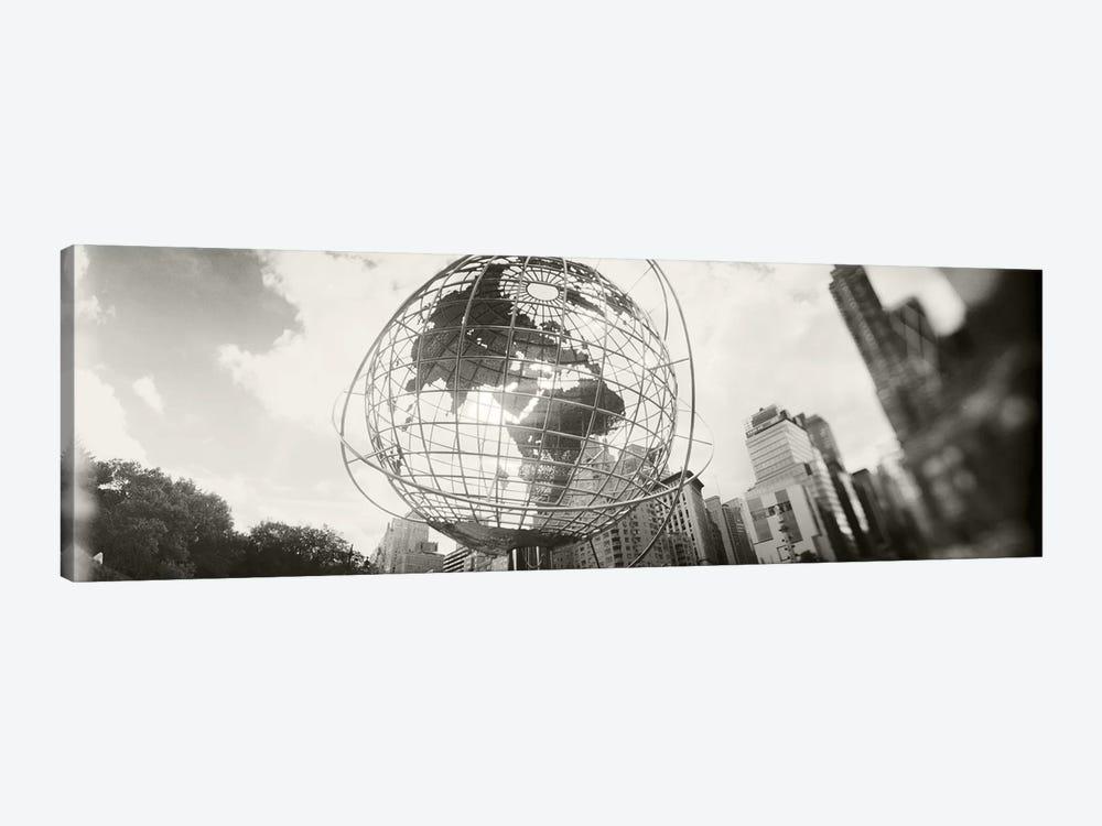Steel globe, Columbus Circle, Manhattan, New York City, New York State, USA by Panoramic Images 1-piece Canvas Art