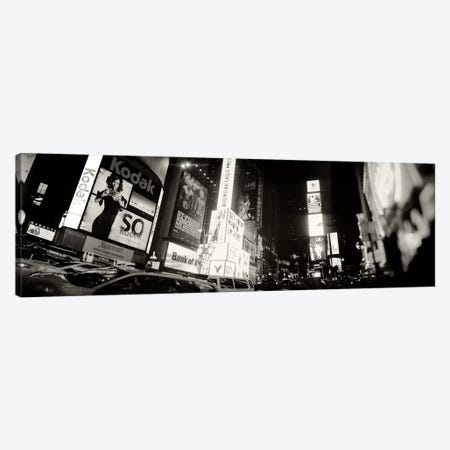 Buildings lit up at night, Times Square, Manhattan, New York City, New York State, USA #2 Canvas Print #PIM8987} by Panoramic Images Canvas Art Print