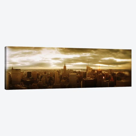 Buildings in a city, Manhattan, New York City, New York State, USA #2 Canvas Print #PIM8989} by Panoramic Images Canvas Art