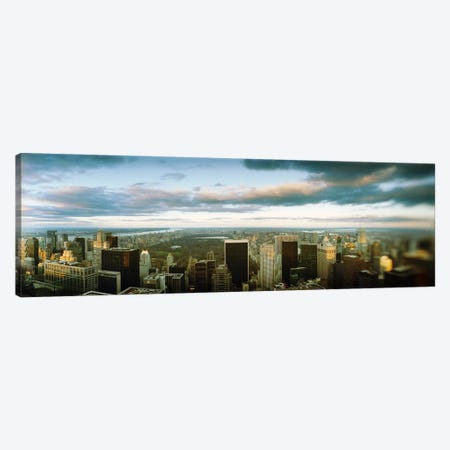 Buildings in a city, Empire State Building, Manhattan, New York City, New York State, USA Canvas Print #PIM8993} by Panoramic Images Canvas Print