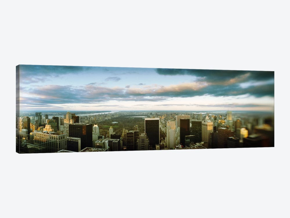 Buildings in a city, Empire State Building, Manhattan, New York City, New York State, USA by Panoramic Images 1-piece Canvas Art Print