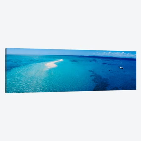 Great Barrier Reef, Queensland, Australia  Canvas Print #PIM8} by Panoramic Images Canvas Wall Art