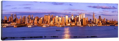 Skyscrapers in a city, Manhattan, New York City, New York State, USA #5 Canvas Print #PIM9005
