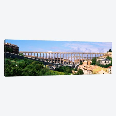 Aqueduct Of Segovia, Castile and Leon, Spain Canvas Print #PIM900} by Panoramic Images Canvas Art Print