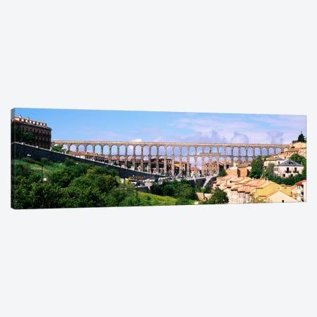 Aqueduct Of Segovia, Castile and Leon, Spain Canvas Print #PIM900} by Panoramic Images Canvas Art Print
