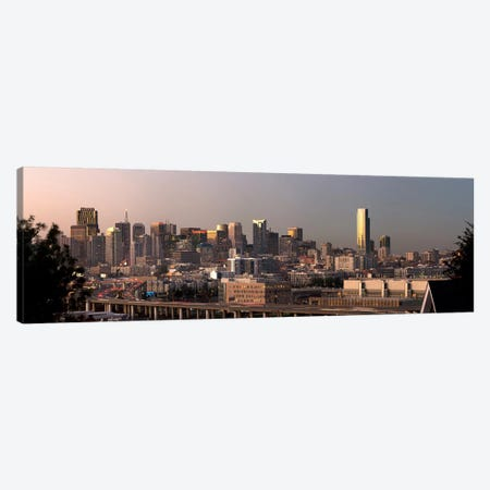 Buildings in a city, San Francisco, California, USA 2010 Canvas Print #PIM9017} by Panoramic Images Canvas Art