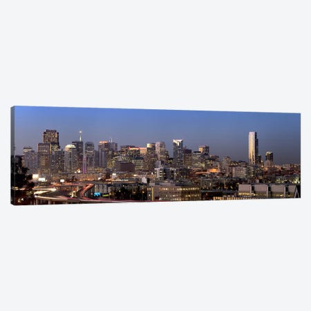 Buildings in a city, San Francisco, California, USA 2010 #2 Canvas Print #PIM9018} by Panoramic Images Canvas Print