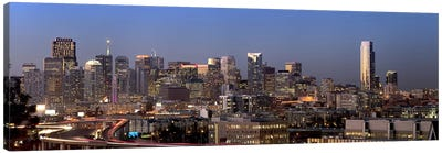 Buildings in a city, San Francisco, California, USA 2010 #2 Canvas Art Print