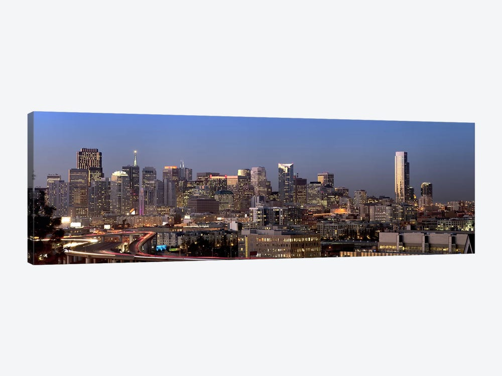 Buildings in a city, San Francisco, California, USA 2010 #2 by Panoramic Images 1-piece Canvas Artwork