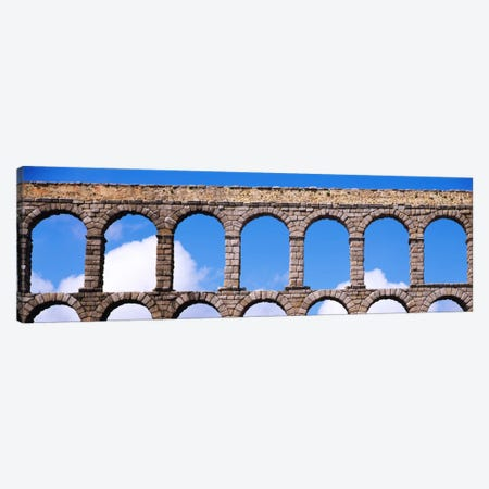 Roman Aqueduct, Segovia, Spain Canvas Print #PIM901} by Panoramic Images Canvas Art Print