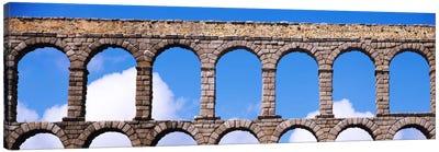 Roman Aqueduct, Segovia, Spain Canvas Art Print