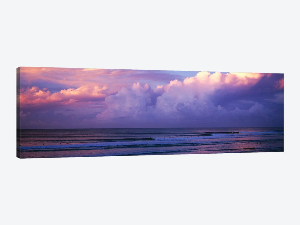 Clouds over the sea at sunset by Panoramic Images 1-piece Canvas Wall Art