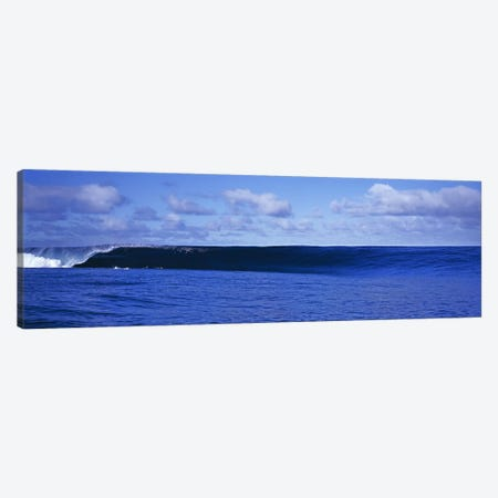 Waves splashing in the sea Canvas Print #PIM9053} by Panoramic Images Canvas Art Print