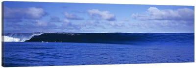 Waves splashing in the sea Canvas Print #PIM9053